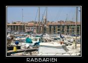 Yachthafen in Marseille